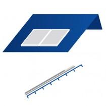 A18 Telhado Sul paralelo vertical