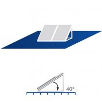 A19 Placa Sul paralelo vertical