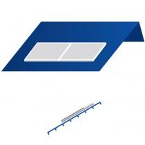 A24 Telhado sul paralelo horizontal