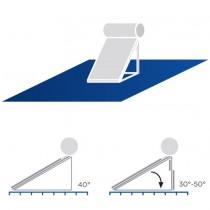 A3 Placa vertical com afinação 30º-50º (150-200 L)